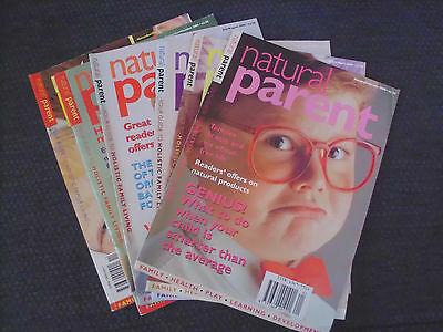 Natural Parent Magazine 2000 (6 Issues) January - December