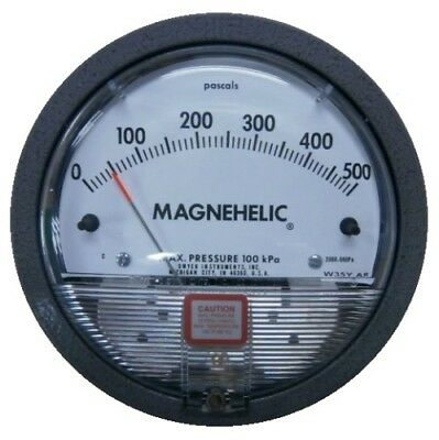 Dwyer Magnehelic 2000-500PA Differential Pressure Gauge (0-500 Pa)