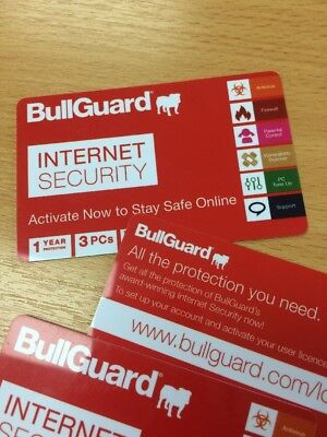 Download BullGuard Internet Security 3 PCs 1 Year Genuine License