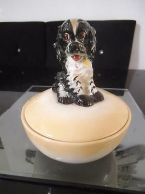 Goebel Butch Dog Powder Bowl Dish Albert Staehle Archiv Stae6 Hummel