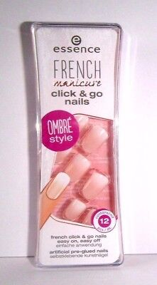 Essence french manicure click & go nails Ombré Style, Kunstnägel