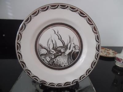 Susie Cooper Gray`s Pottery Two Swallows Gloria Silver Lustre Charger 8630 Grays
