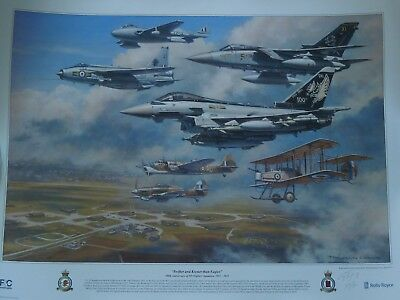 Royal Air Force XI (Fighter) Squadron Ltd Edition SIGNED Print