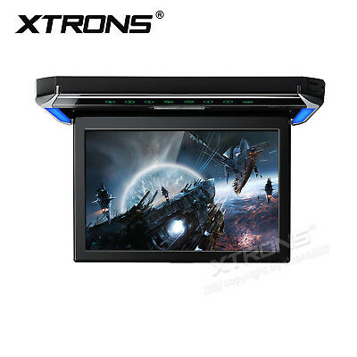 "12.1"" HD 1280*800 Black Flip Down Roof Mount Overhead Car Monitor DVD/USB Player"