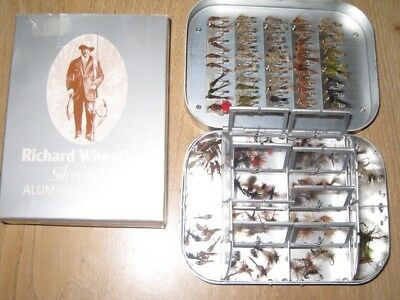 Richard Wheatley spring loaded fly box