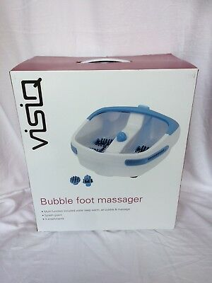 **BRAND NEW** Visiq Bubble Foot Spa Massager