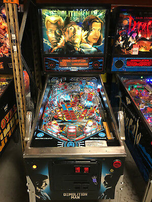 Demolition Man Pinball Machine Pinballking