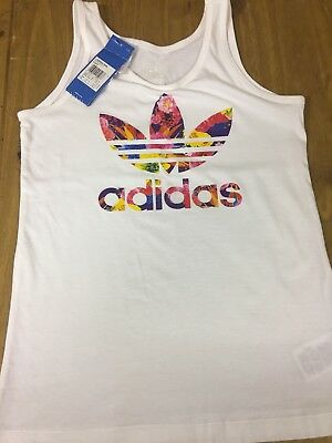 Girls Adidas Vest Age 11/12 Years New