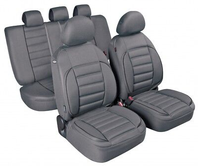 Pilot Deluxe Seat Cover Set Sport Edition, Grey
