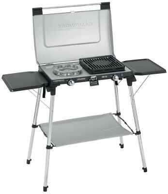 Campingaz Series 600 SG Double Burner, Grill & Stand - JC30