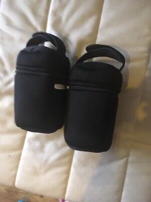 tommee tippee insulated bottle bag X2