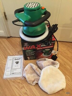 HV Professional Wax wizard 3 waxer and polisher