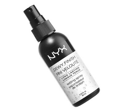 Nyx Dewy Finish Spray Make Up Fixer Erfrischung 60 Ml