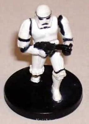 WOTC Star Wars Minis Force Unleashed Stormtrooper SW