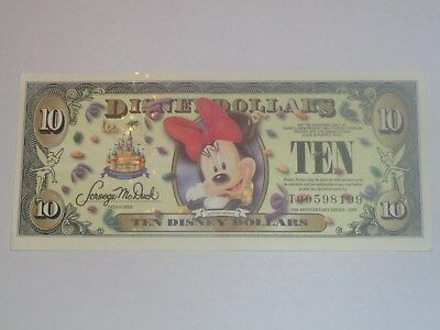 2005 $10 Minnie Mouse - T Series