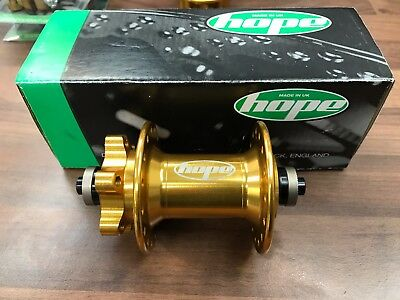 Hope GOLD Front Hub - BRAND NEW