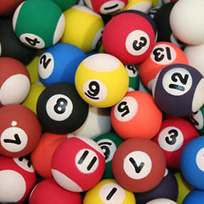 Novelty Billiards,Snooker,Pool Ball Erasers-Kids School,Home & Office Stationery