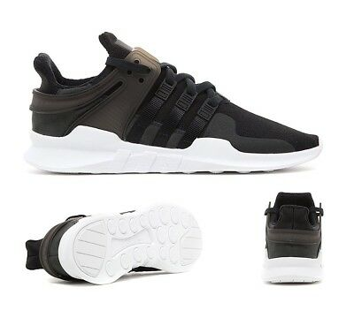 Mens Adidas EQT Support ADV Black/White Trainers RRP £99.99