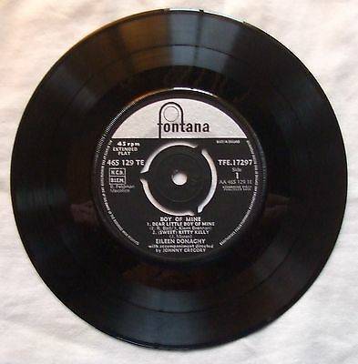 "EILEEN DONACHY 7"" Vinyl EP Record - Boy Of Mine"