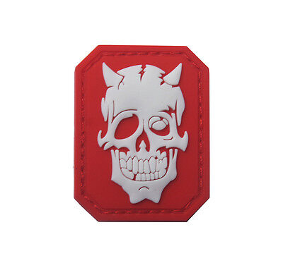 Skeleton ARMY TACTICAL  MORALE BADGE PVC rubber  PATCH  SH+ 926