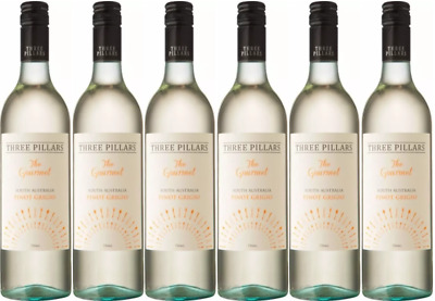 2015 | Three Pillars The Gourmet Pinot Grigio | Wine of South Australia (12 B...
