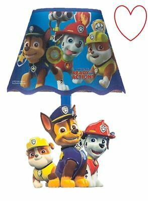 Paw patrol LED night light wall lamp stick on bedroom boys girls