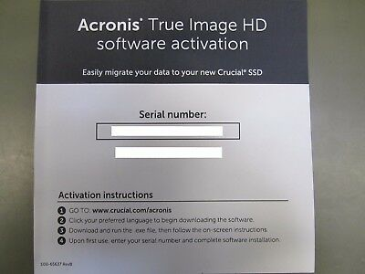 Acronis True Image HD 2015 Backup Software