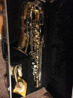 Selmer Bundy II 2 Alto Sax Student Saxophone Hard Case Made in USA