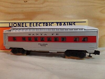 Lionel Train Atsf Santa Fe Railroad Full Vista Dome Passenger Car W/box 6-16092