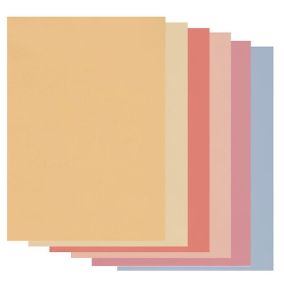 A4 Coloured Parchment Paper - Soft Tones
