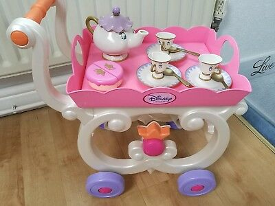 disney princess mrs potts & chip tea trolley