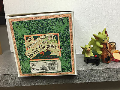 Quartet  Whimsical World of Pocket Dragons  MIB