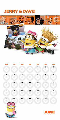 Despicable Me 3 Official Calendar 2018