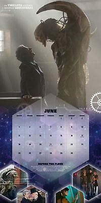 Doctor Who Official Calendar 2018