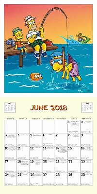 The Simpsons Official Calendar 2018