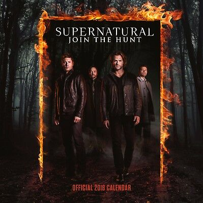 Supernatural Official Calendar 2018