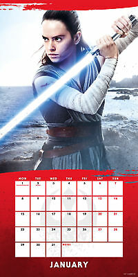 Star Wars Episode 8 Official Calendar 2018