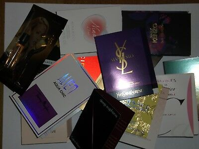 Job lot 10 perfume samples