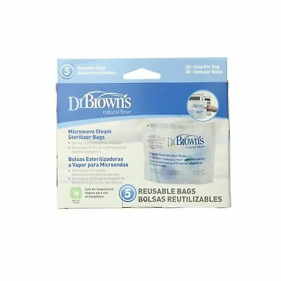 Dr. Brown's Microwave Steam Sterilizer Bags Pack of 1