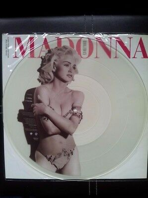 """MADONNA 'Holiday' - 1991 UK Limited Edition Reissue 12"""" Picture Disc"""