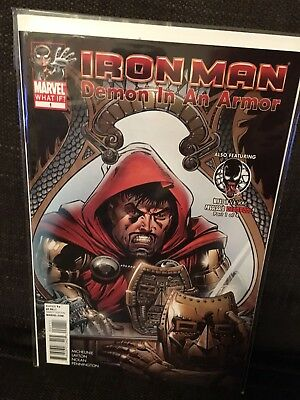 What If? Iron Man NM feat What If? Venom Possessed Deadpool pt 1