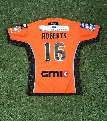 Ben Roberts 2017 Castleford Tigers Home Jersey