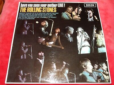THE ROLLING STONES Have You Seen Your Mother LIVE UK Decca EXPORT LP TOP COPY!!!