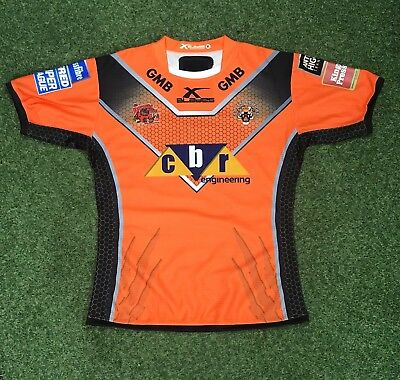 Nathan Massey 2017 Castleford Tigers Home Jersey
