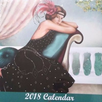 Claire Coxon, Art Deco 2018 Calendar, Brand New And Sealed