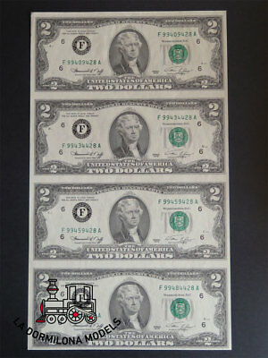 B03 - Banknote - Full Page 2$ Two Dollars Series 1976 Uncut New