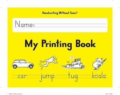 NEW Handwriting Without Tears My Printing Book by Jan Z. Olsen Grade 1