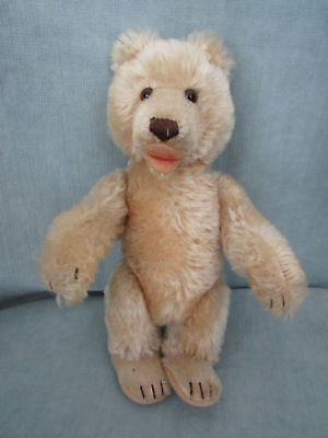 """HARD TO FIND-TEDDY BABY BEAR- SIZE 9"""" JOINTED SIGNED ZONE T"""