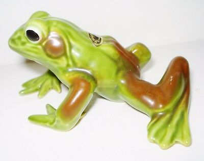 Vintage Porcelain Frog Figurine Beautiful Design Josef Originals Nr
