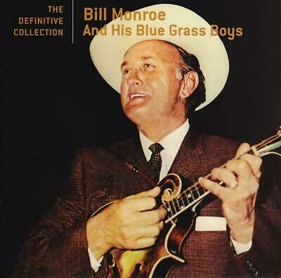 The Definitive Collection - by Bill Monroe & His Bluegrass Boys - Damaged Case